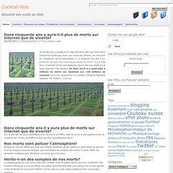 Les morts sur internet : on en parle peu