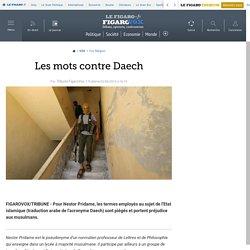 Les mots contre Daech