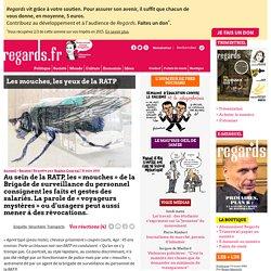 Les mouches, les yeux de la RATP