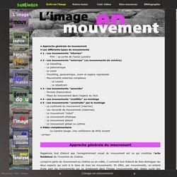 Les mouvements en cinéma et vidéo