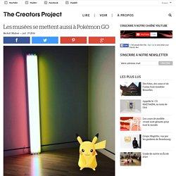 Les musées se mettent aussi à Pokémon GO