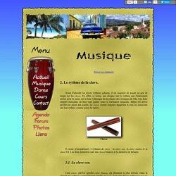Les musiques cubaines (la clave)