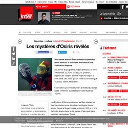 Les mystères d'Osiris révélés