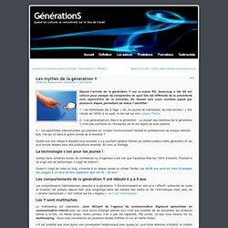 Les mythes de la génération Y