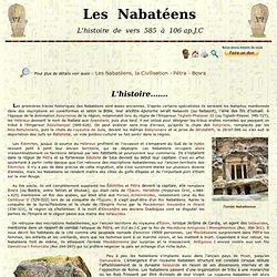 Les Nabatéens - L'Histoire