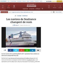 Sociétés : Les navires de Seafrance changent de nom