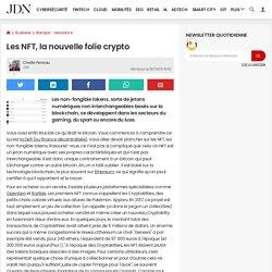 Les NFT, la nouvelle folie crypto