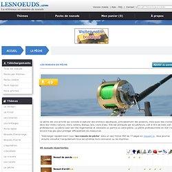 les noeuds de pêche
