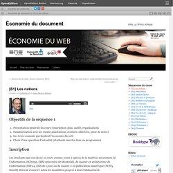Economie du web