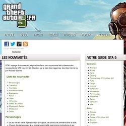 Les nouveautés de GTA 5 / GTA V