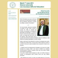 Les nouveaux défis de l'éducation