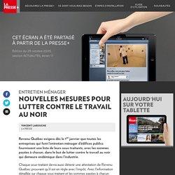 Les nouvelles du jour - La Presse+