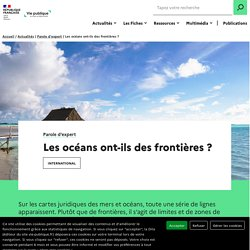 Les océans ont-ils des frontières ?