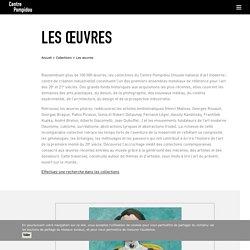 Les œuvres – Centre Pompidou