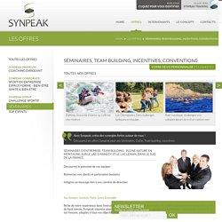 Les offres - Synpeak