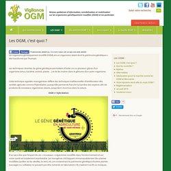 Les OGM, c'est quoi ? - Vigilance OGM