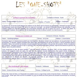 "Les ""One-shots"" BD"