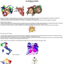 Les origines du Carnaval