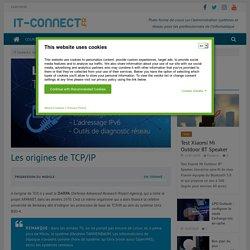 Les origines de TCP/IP