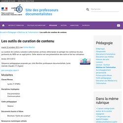 Les outils de curation de contenu