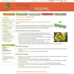 Les outils du réseau Tela-botanica