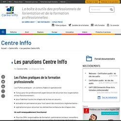 Les parutions Centre Inffo
