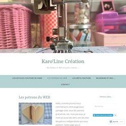 Les patrons du WEB – Karo'Line Création