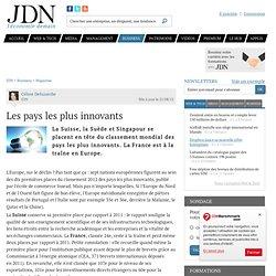 Les pays les plus innovants - Journal du Net Economie