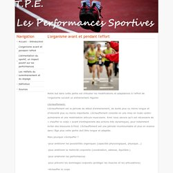 Les Performances Sportives