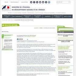 MEDDE 23/11/15 Les pesticides dans les cours d'eau français