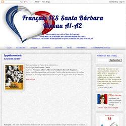 Français IES Santa BárbaraNiveau A1-A2: Les petits mouchoirs