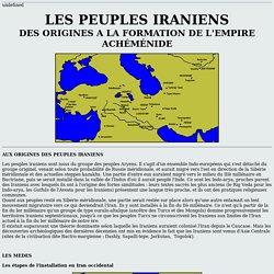 LES PEUPLES IRANIENS