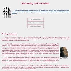 Les Phéniciens - A la découverte des Phéniciens
