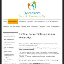 Dyscussions - Les photocopies