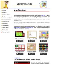 Les Pictogrammes - Applications