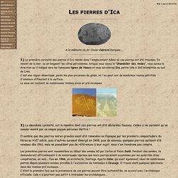 Les pierres d'Ica