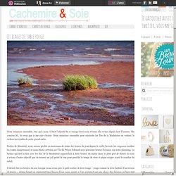 Les plages de sable rouge