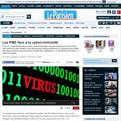 Les PME face à la cybercriminalité