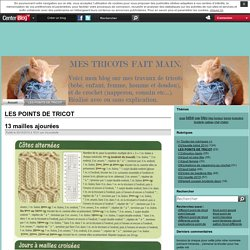 Les points tricot - Page 2