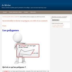 Les polygones : géométrie mathématiques - Je Révise