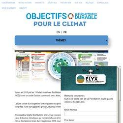 Les ODD pour le Climat – Fondation Elyx