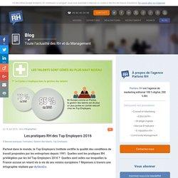 Les pratiques RH des Top Employers 2016