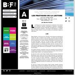 Les pratiques de la lecture : synthèse sur l'acte de Lire, Ecrire, l'état de lecteur, l'alchimie de la lecture