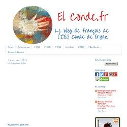 El Conde. fr: Les prépositions de lieu
