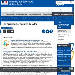 Les principales mesures de la loi - Loi de modernisation de notre système de santé - Ministère des Solidarités et de la Santé