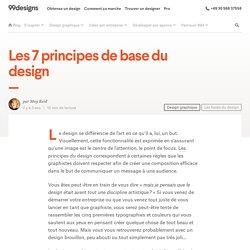 Les 7 principes de base du design
