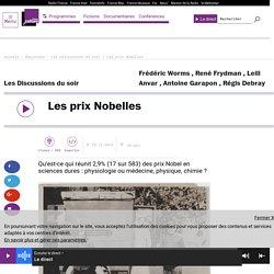Les prix Nobelles