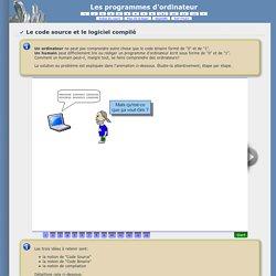 Les programmes d'ordinateur
