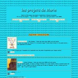 Les projets de Marie