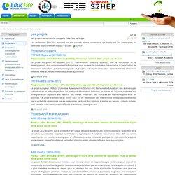 Les projets — EducTice